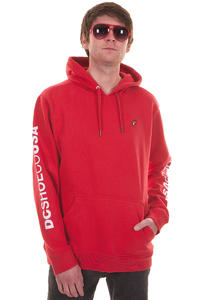 DC Sleeveland Hoodie (athletic red)