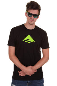 Emerica Triangle 7.0 T-Shirt (black green)