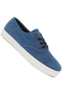 Emerica Laced Suede Shoe (blue white orange)