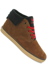 Supra Passion Suede Shoe (brown black red tan)
