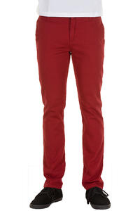 KR3W K Slim Chino Hose (red)