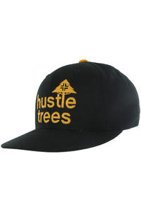 LRG CC Hustle Trees Snapback Cap (black mustard)