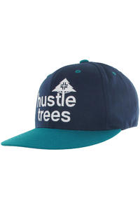 LRG CC Hustle Trees Snapback Cap (navy aqua)