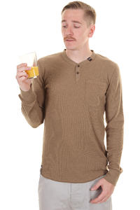 LRG So Sensi Longsleeve (mocha heather)