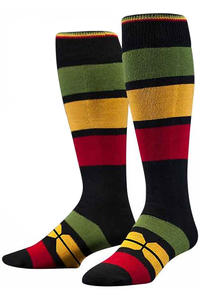 Stance Redemption Socks US 6-13  (rasta)