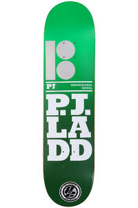 Plan B Ladd Stacked P2 7.75&quot; Deck (green)