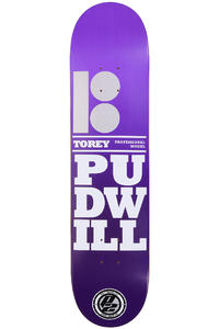 "Plan B Pudwill Stacked P2 7.5"" Deck (purple)"