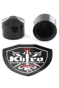 Khiro Large Hard Pivot Cup Gummi 2er Pack  (black)