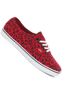 Vans Authentic Lo Pro Schuh girls (leopard red true white)