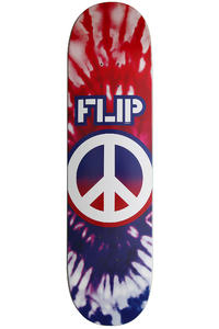 "Flip Team Peaceout USA Or Dye 8.125"" Deck (red purple)"