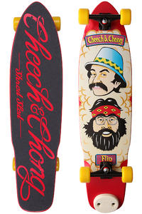 Flip Cheech And Chong Shred Sled 9.3&quot; Cruiser (multi)