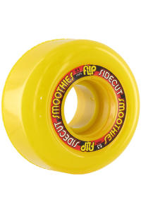 Flip Sidecut Smoothies 53mm Wheel 4er Pack  (yellow)