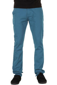 Volcom Frozen Tight Chino Hose (dark turquoise)