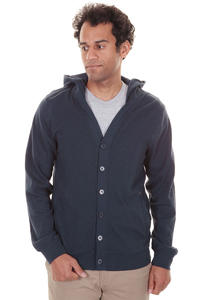 Volcom Turn Out Cardigan mit Kapuze  (dark navy)