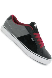 DVS Crenshaw Nubuck Shoe (black red)