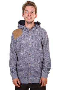 Volcom Weathersby Button Hoodie (midnight blue)