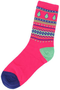 Volcom Jingle Ball Socks US 7 W - 11 W  girls (pink)
