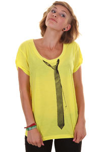 Volcom Faux Tie T-Shirt girls (neon lieme)
