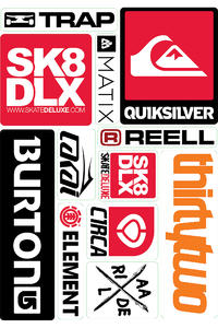 skatedeluxe Sheet No. 2 Sticker