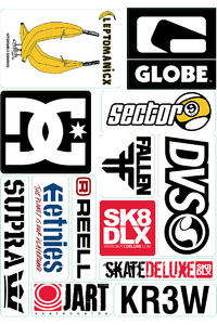 skatedeluxe Sheet No. 3 Sticker