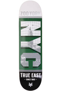 "Zoo York NYC Block Series 8"" Deck (gang green)"
