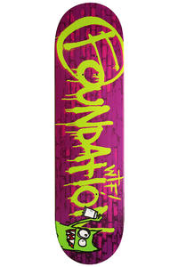 "Foundation W.T.F Mark 8"" Deck (purple)"