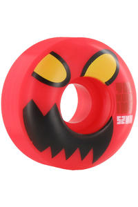 Toy Machine Monster Head 52mm Rollen 4er Pack  (red)