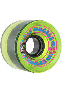Pig Rover 60mm Rollen 4er Pack  (green)