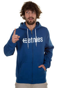 Etnies Corporate Zip-Hoodie (royal)