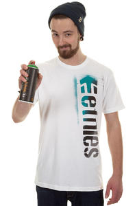 Etnies Corp Spray T-Shirt (white)