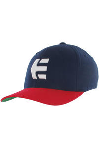 Etnies Icon 5 Flexfit Cap (navy red)