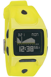 Nixon Lodown Uhr (lime black)