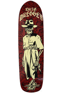 Santa Cruz Dressen Skeleton 8.75&quot; Deck (red)