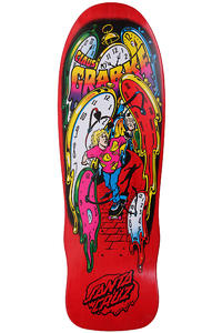Santa Cruz Grabke Melting Clocks 9.7&quot; Deck (red)