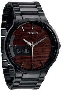 Nixon Spencer Watch (dark wood black)
