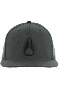 Nixon Deepdown Marle SP12 Cap (black heather)