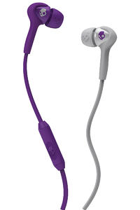 Skullcandy Smokin Buds Kopfhörer mit Mikro  (athletic purple grey)