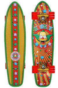 "Santa Cruz Krusty Brand 7.4"" x 29.1"" Cruiser (multi)"
