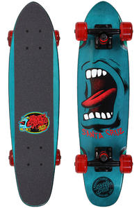 "Santa Cruz Sidewalk Screamer 6.5"" x 25.5"" Cruiser (blue)"