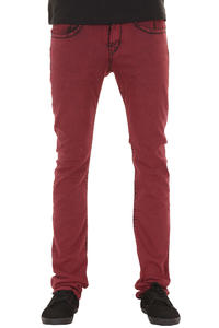 REELL Rocket Stretch Jeans (colored red)