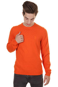 WeSC Anwar Sweatshirt (tangerine tango melange)