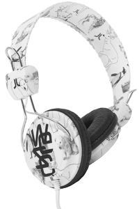 WeSC Animal Conga Headphones (white)