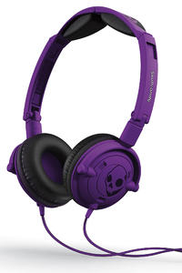 Skullcandy Lowrider Kopfhrer mit Mikro  (athletic purple)