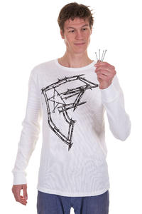 Famous Nailed Boh Longsleeve (white black)