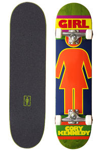 Girl Kennedy Mega Jamz 7.625&quot; Complete-Board (multi)