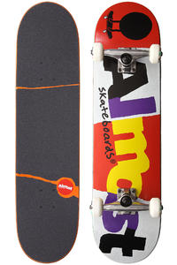 "Almost Mash Up 8"" Complete-Board (red white)"