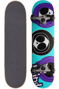 "Blind Three Kennys 7.375"" Complete-Board (teal purple)"