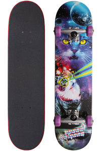 Speed Demons Meow Walker 7.625&quot; Complete-Board (blue purple)