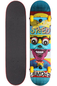 Speed Demons Face Smash Super Brother 7.625&quot; Komplettboard (multi)