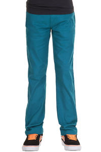 Volcom Frozen Tight Chino Hose kids (dark turquoise)